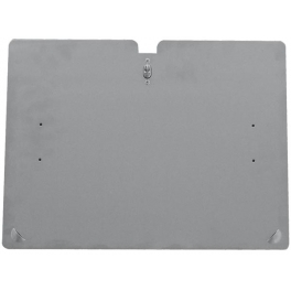 Soporte de matrícula rectangular ADR