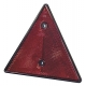 Catadióptrico reflectante triangular