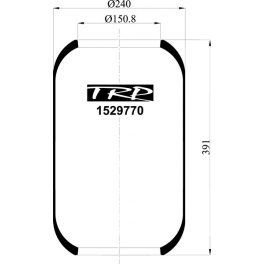 Fuelle neumático tipo tonel TRP
