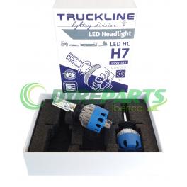Kit H7 LED TRUCKLINE 2501ULH7LED