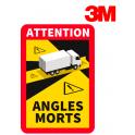 Señal advertencia ángulos muertos