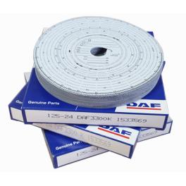 Discos de tacógrafo DAF Genuine